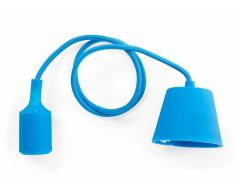 Lámpara de techo - Iluminación colgante - Silicona - Azul - ARAKS