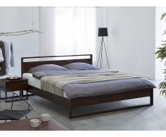 Cama de madera – Barnizada– Tamaño extra grande – 160 x 200 cm – GIULIA