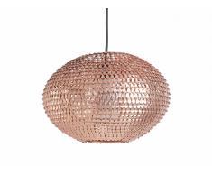 Moderna lámpara colgante - Ovalada - Chandelier - Nickel - REINE