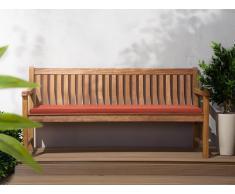 Colchón para banco de jardín TOSCANA/JAVA terracota 169x50x5 cm