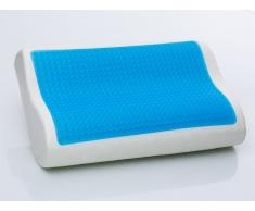 Almohada de gel - espuma - 50x30 cm - Memory foam - MOCO