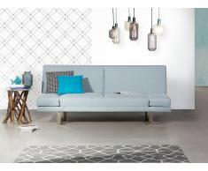 Sofá cama azúl celeste - Canapé - Sofá tapizado - YORK
