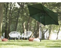 Sombrilla de jardín 270 cm color verde VARESE