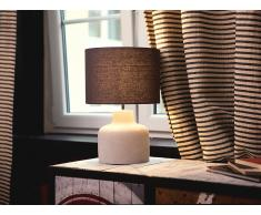 Lámpara de mesa - Iluminación de noche - Concreto - Gris - BHIMA