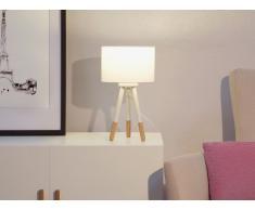 Lámpara de mesa - Lámpara de noche - Blanco - TOBOL