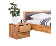 Cómoda de madera - Cómoda con 2 cajones - Mesita de Noche - CARRIS ARRAS