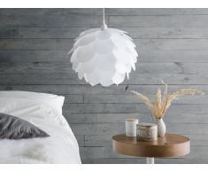 Lámpara de techo blanca RHINE