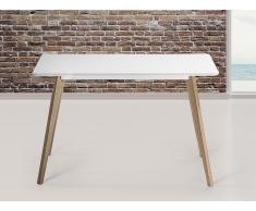 Mesa de comedor blanca - 120 x 80 cm - FLY