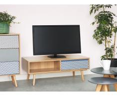 Mueble TV con 1 cajón, marrón, HARDWICK