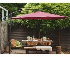Sombrilla de jardín Ø300 cm borgoña RAVENNA