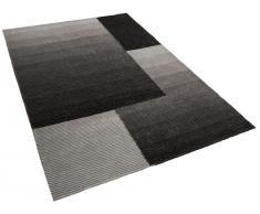 alfombra gris polister ankara x cm