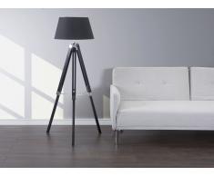 Lámpara de pie – Lámpara de salón – Negro - MADEIRA