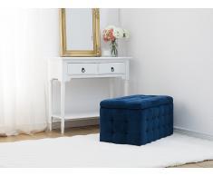 Banco - Caja baúl - Almacenaje - Azul oscuro - MICHIGAN