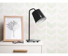 Lámpara de mesa - Lámpara de oficina - Metal - Negro - TARIM