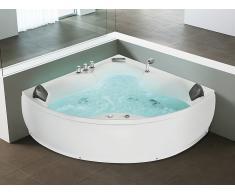 Bañera de hidromasaje - Grifo estilo cascada - Iluminación subacuática - SENADO