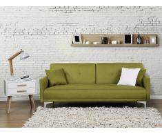 Sofá cama Verde - Canapé - Sofá tapizado - LUCAN