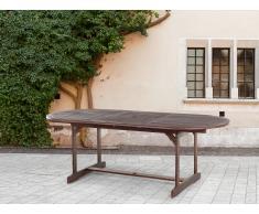 Mesa extensible - Madera acacia - Marrón - 160-220 cm - MAUI