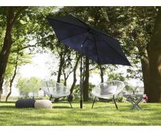Sombrilla de jardín 270 cm color azul marino VARESE