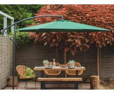 Sombrilla de jardín Ø300 cm verde RAVENNA