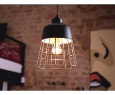 Lámpara de techo - Iluminación colgante - Metal - Negro - MONTE