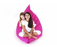 Puf cojín - Saco para sentarse - 140 x 180 cm - Rosa
