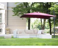 Sombrilla de jardín 250x250x235 cm borgoña MONZA
