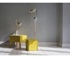 Lámpara de pie - Iluminación moderna - Color blanco - OWENS