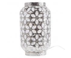 Lámpara de mesa en níquel SAJO M