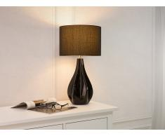 Lámpara de mesa moderna - Negro - SANTEE