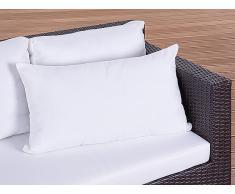 Cojín de jardín - Almohadón para mobiliario de exterior - 40x70 cm beis