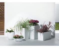 Maceta – 120x50x55 cm – Blanco – ORTA