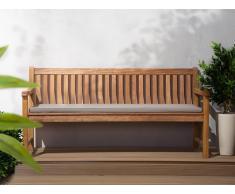 Colchón para banco de jardín TOSCANA/JAVA gris-beige 169x50x5 cm