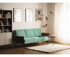 Sofá cama tapizado, verde menta, HALTI