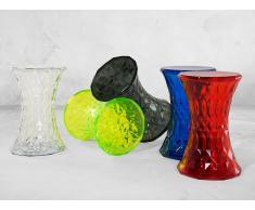 Mesa auxiliar - Verde transparente - Material sintético - NEWHAM