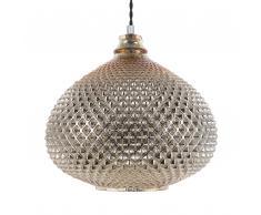 Lámpara colgante dorada MADON
