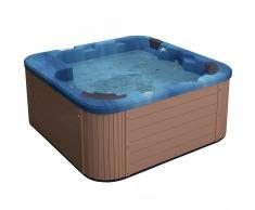 Spa exterior - Bañera de hidromasaje - Acrílico azul - SANREMO