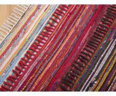 Alfombra de algodón - Multicolor -80x150 cm- DANCA