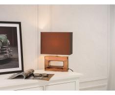 Lámpara de mesa moderna - color marrón - ONYX