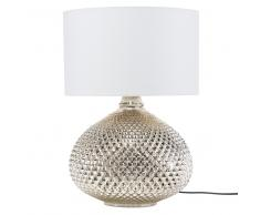 Lámpara de mesa dorada MADON