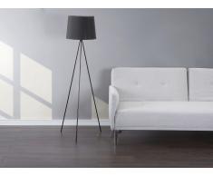 Lámpara de pie - Lámpara de salón - Negro - SAMBRA