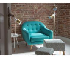 Sillón tapizado - Azul celeste- Butaca - GJOVIK