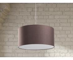Lámpara de techo - Iluminación de salón - Marrón - ELBE