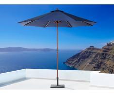 Sombrilla de jardín - Color azul oscuro - Madera ø 270 - TOSCANA II