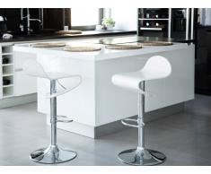 Taburete de bar – Silla – Blanco– LIVERPOOL