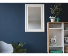 Espejo de pared - Marco blanco - 61x91 cm - LUNEL