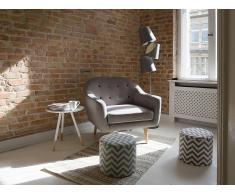 Sillón tapizado - Gris - Butaca – GJOVIK