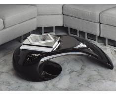 Mesa de centro – Fibra de vidrio – Auxiliar – Negro – ELATUS
