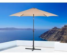 Sombrilla de jardín - Color moca- Metal - ø 267 cm - VARESE