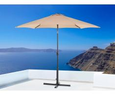 Sombrilla de jardín - Color beige arena - Metal - ø 270 cm - VARESE