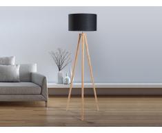 Lámpara de pie - Iluminación de diseño - Negra - NITRA